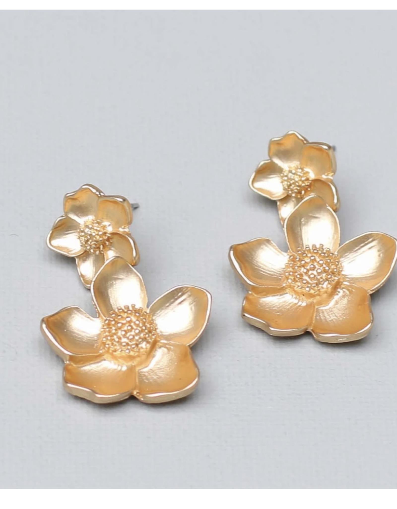 Michelle McDowell Gold Malone Earrings