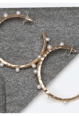 Michelle McDowell Anaya Gold earrings