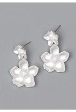 Michelle McDowell Silver Malone earrings