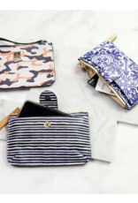 Michelle McDowell Wristlet Sophie navy stripes