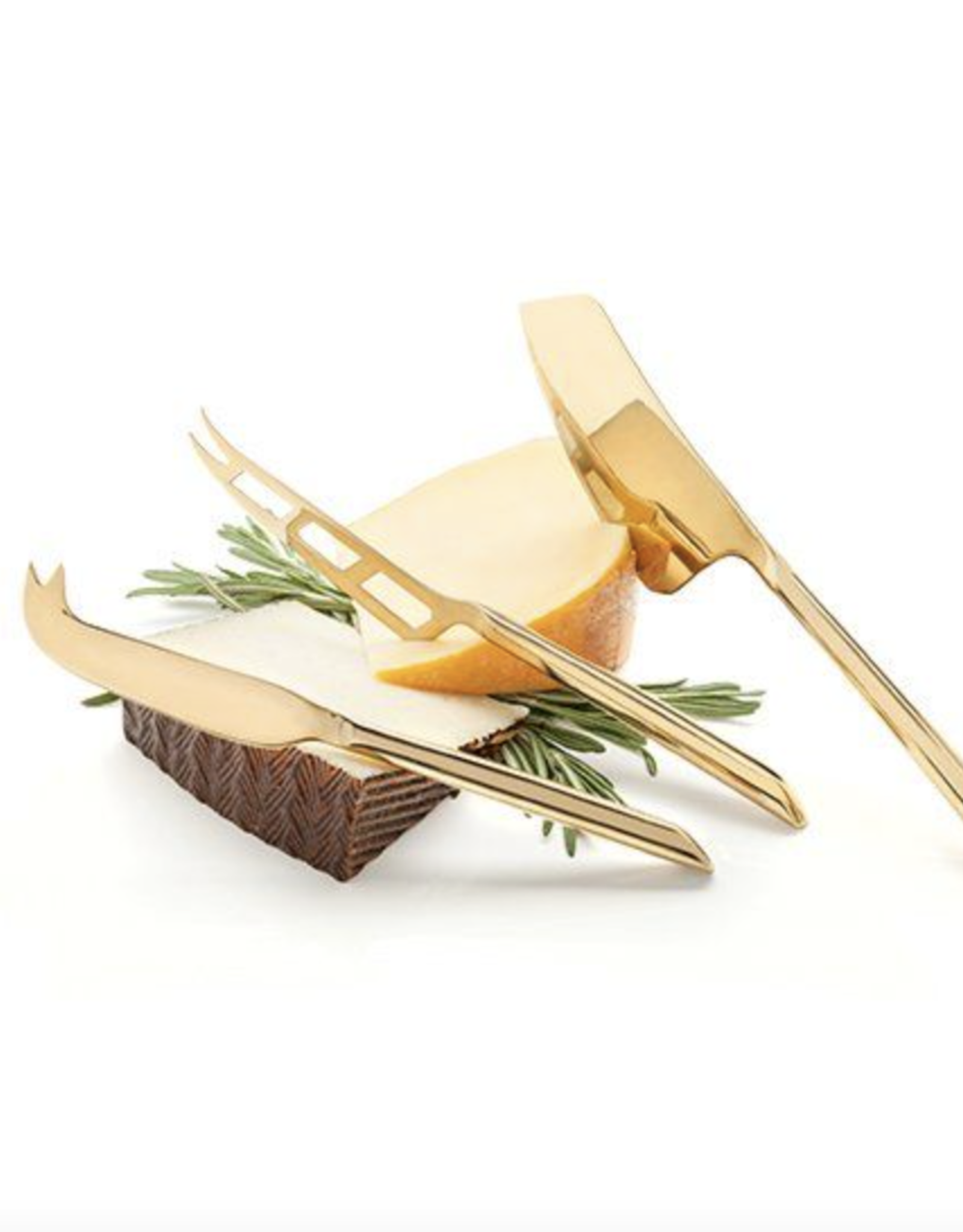 viski Gold Cheese Knives