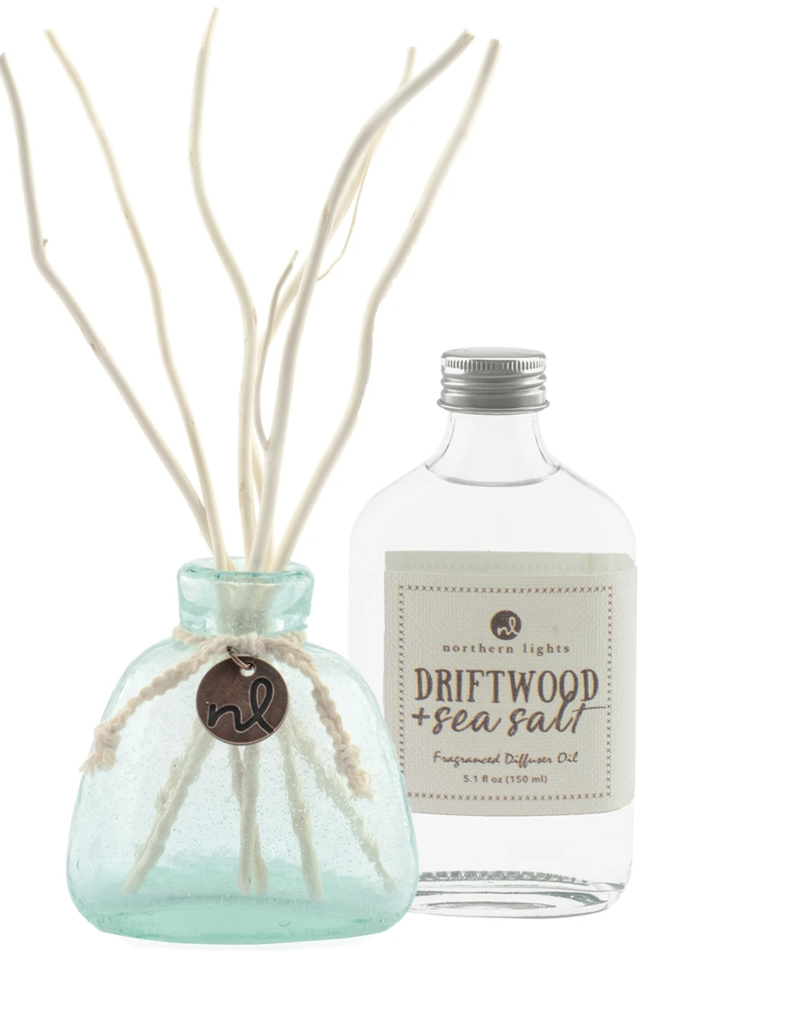 Driftwood and sea salt reed diffuser