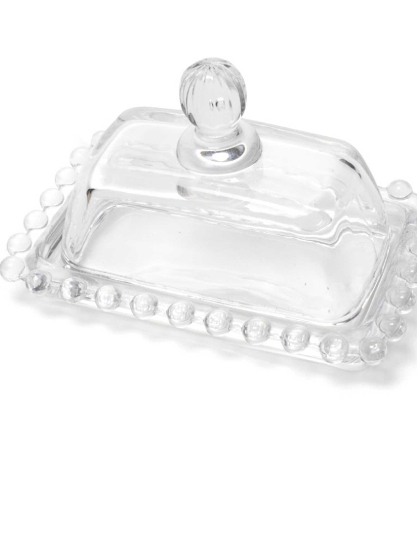 Glass covered dish
