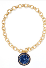 fornash Barcelona Navy Necklace by FORNASH