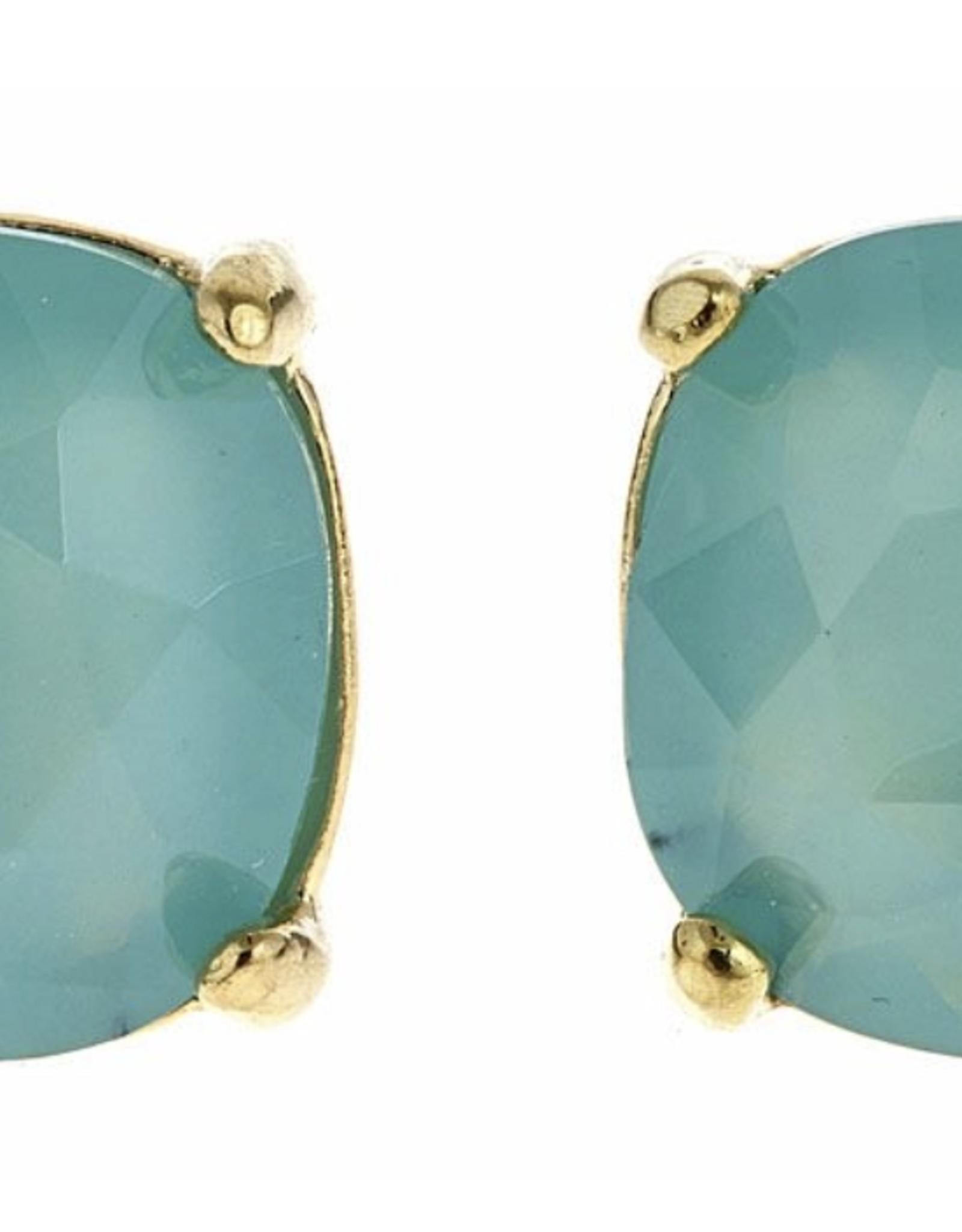 fornash Charlotte earrings-aqua