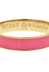 fornash Bubblegum Pink Friday bangle