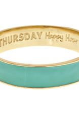 fornash Aqua Thursday Bangle