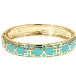 fornash Mosaic Bracelet aqua/gold
