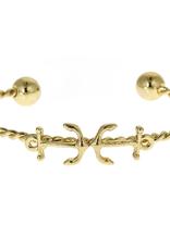 fornash Gold Lighthouse Bracelet-anchor