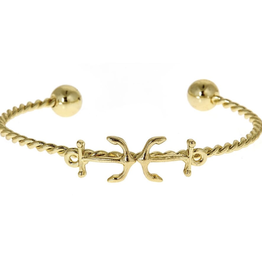 fornash Gold Lighthouse Bracelet-anchor