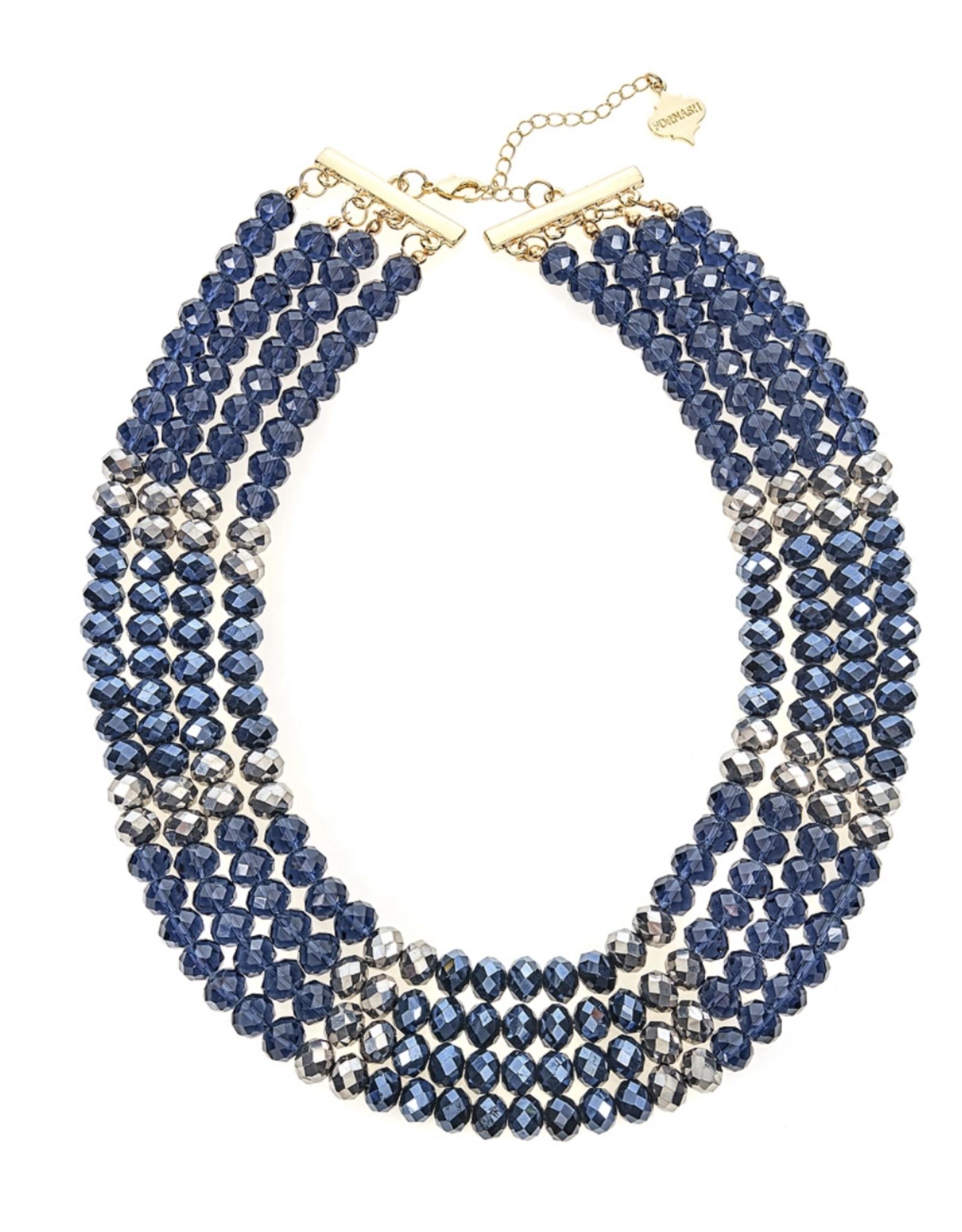 fornash Celebration Necklace-Navy