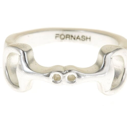 fornash Brush Silver Lauren BIT Ring size 7