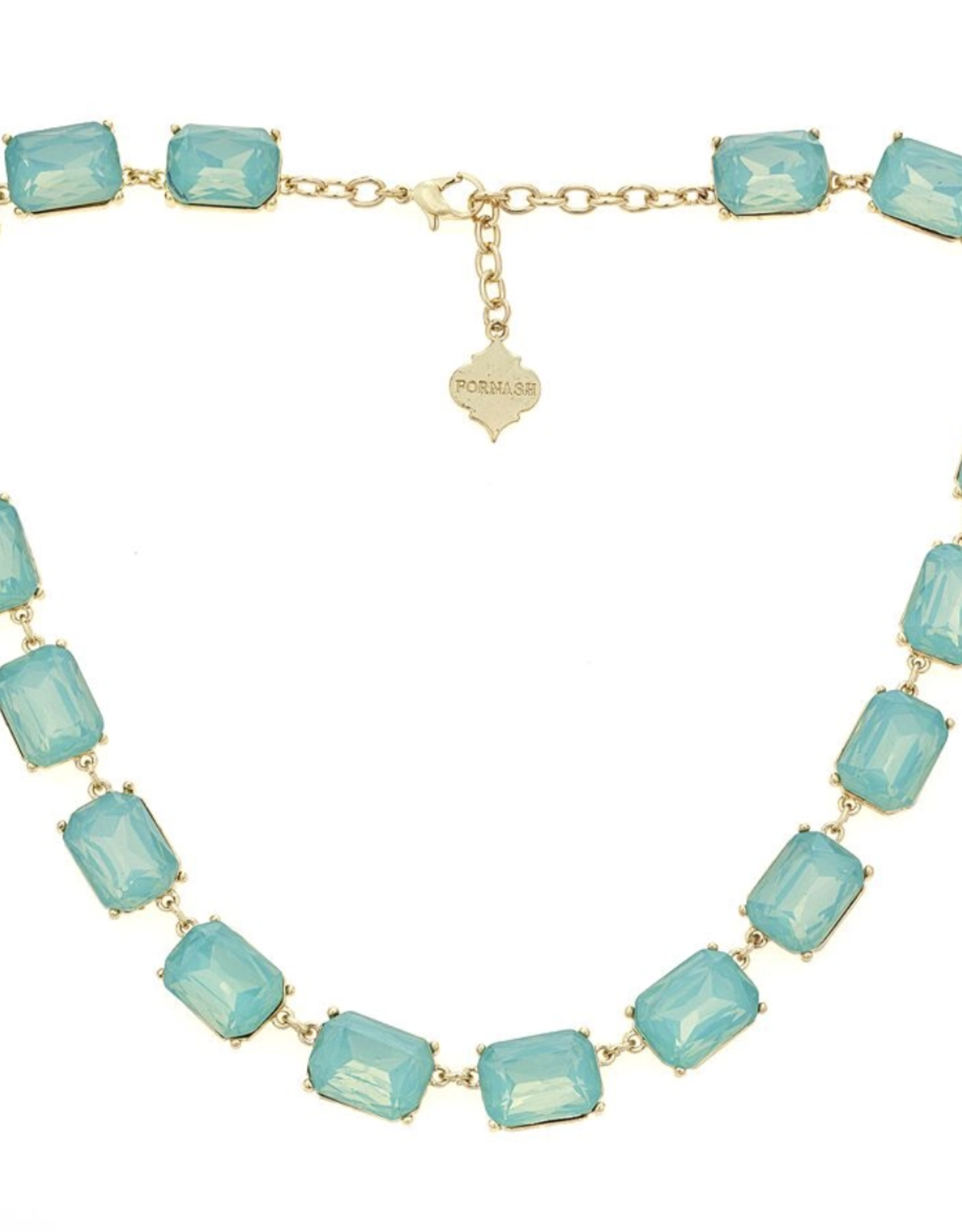 fornash Jasmine necklace-Aqua