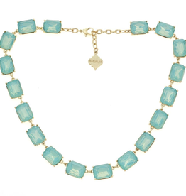 fornash Jasmine necklace-Aqua