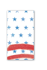 Michel Design Works Red,White and Blue Hostess Napkins