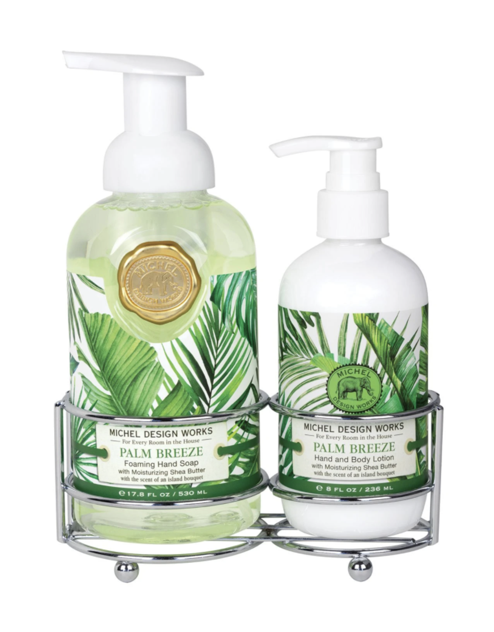 Michel Design Works Palm Breeze Hand Care Caddy