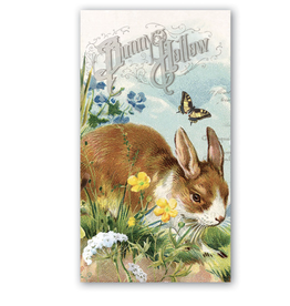 Michel Design Works Bunny Hollow Hostess Napkins