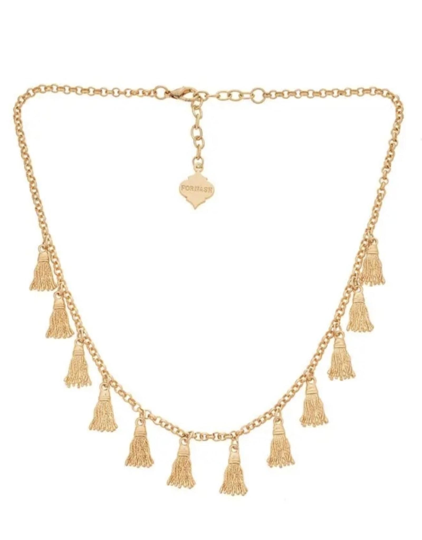 fornash Calypso Tassel Necklace