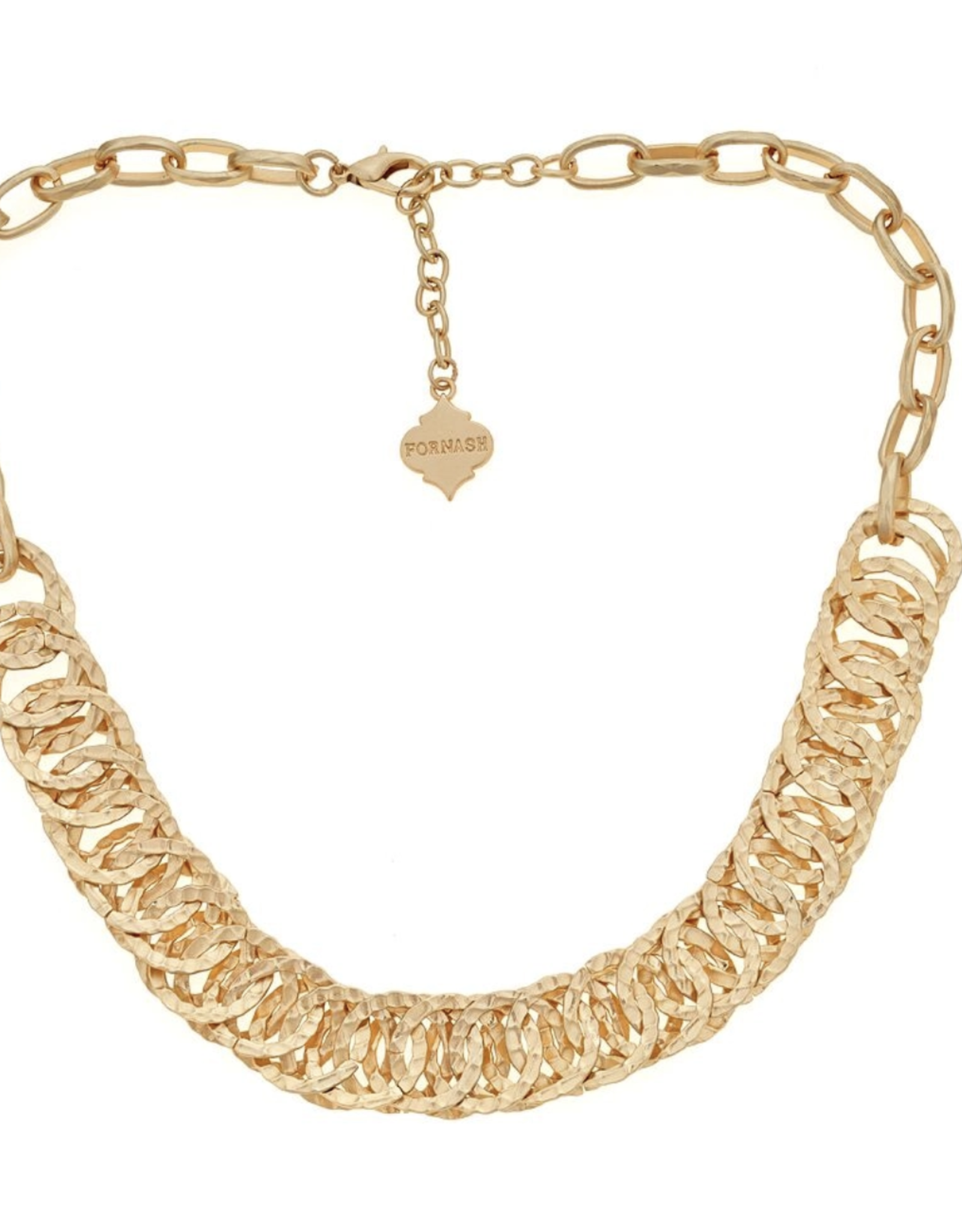 fornash Brush Gold District Necklace