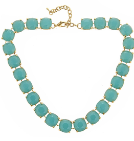 fornash Charlotte necklace-aqua