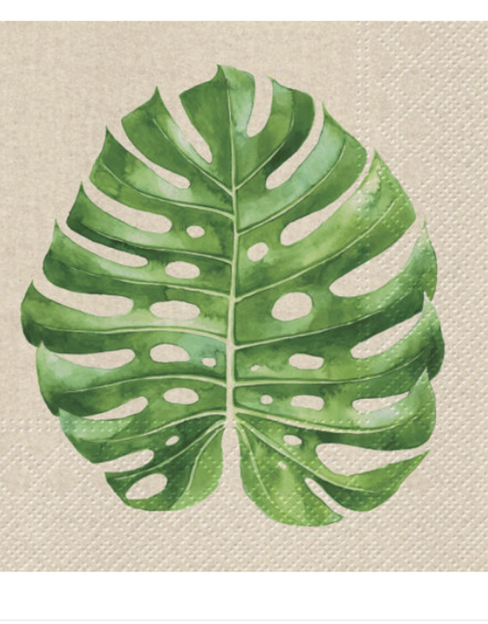 Monsterra Leaf Napkins 20 count