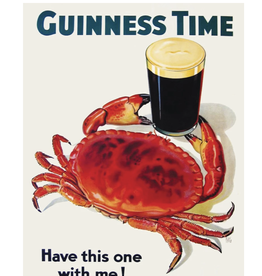 Guinness and Crab mini 100 piece puzzle