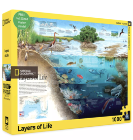 Layers of Life 1000 piece puzzle