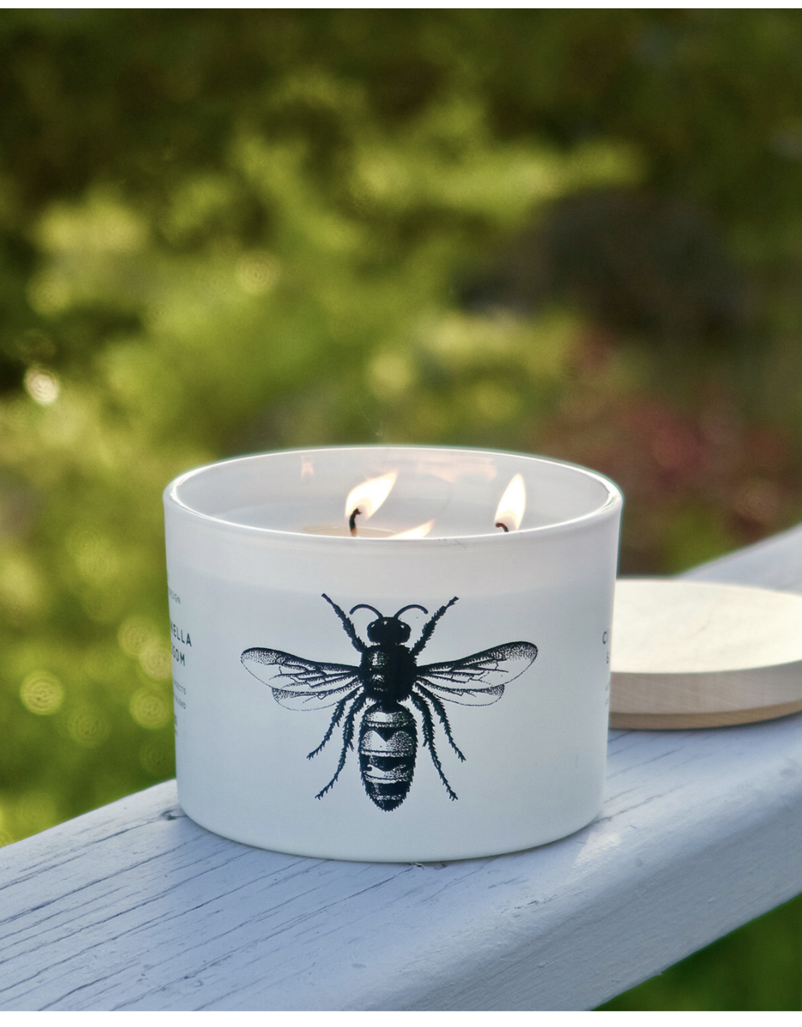 Skeem Citronella and Blossom Candle - 3 wick