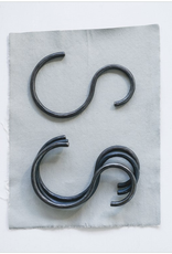"""Creative Co Op 6-1/4""""L x 4""""W Hand-Forged Iron S-Hook"""