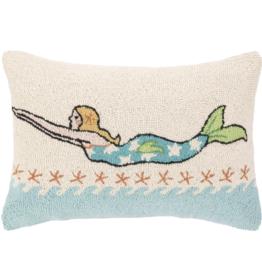 Suzanne Nicoll Mermaid Blonde 14x20 pillow
