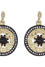 fornash Black Avalon Earrings