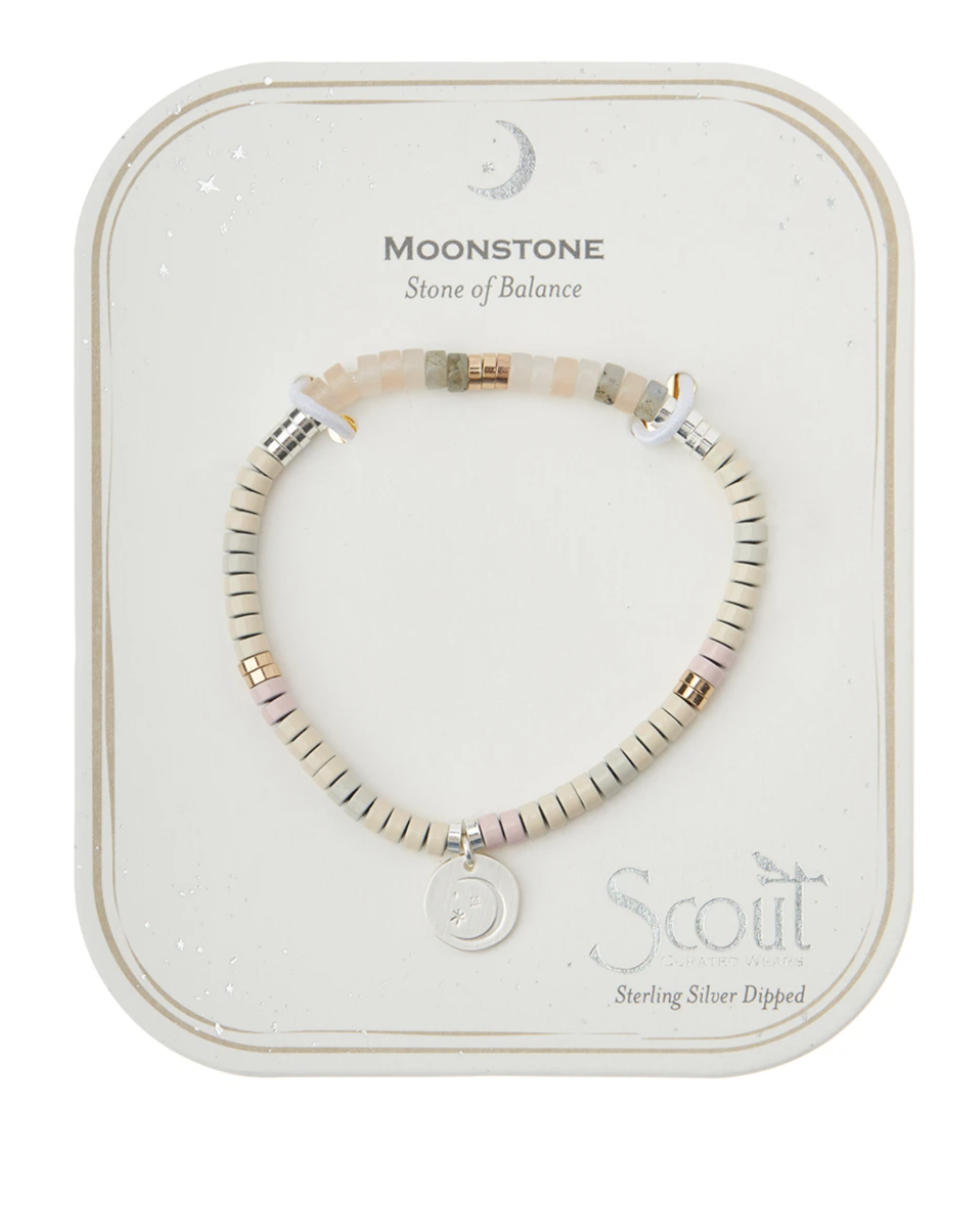 Stone of Intention Bracelet -Moonstone
