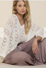 POL Clothing Powder Beige Sweater