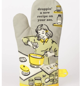 droppin a new recipe on your ass oven mitt