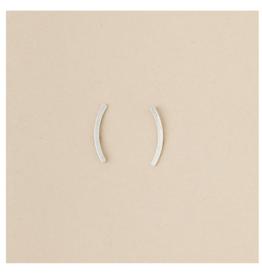 Comet curve earrings s.s.