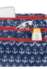 Anchor Navy Hanging Toiletry Bag