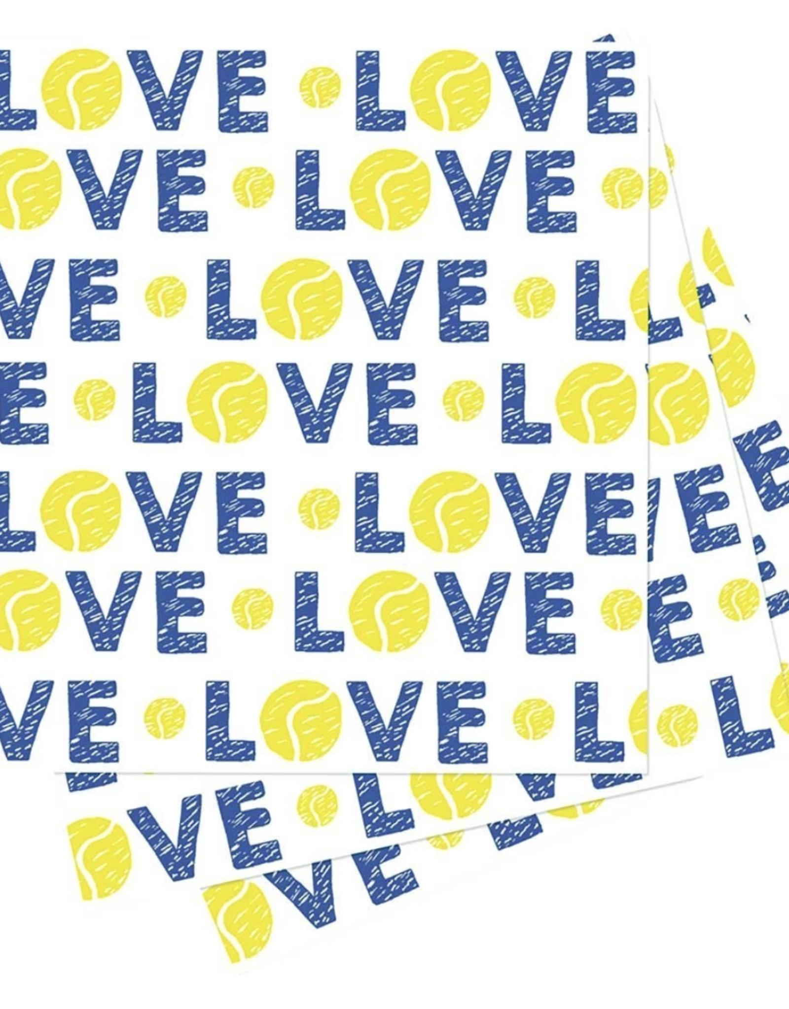 Love tennis ball Napkins