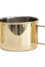 Stainless steel  moscow mule brass finish
