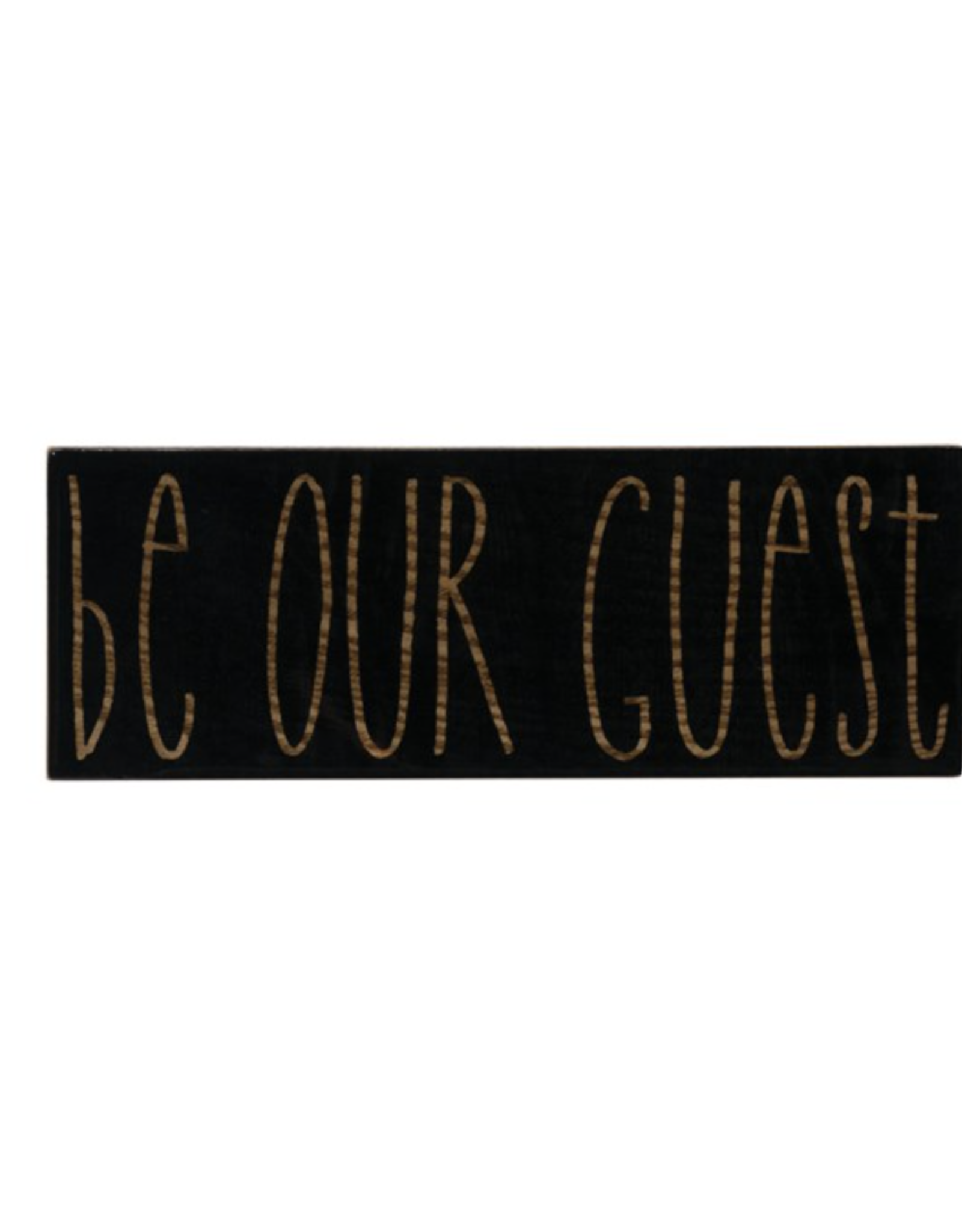 Creative Co Op Be Our Guest Wall Decor
