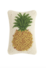 Pineapple Hooked 8x12 pillow