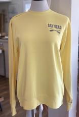 Yellow/Gray Bay Head  Sweatshirt