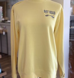 Yellow/Gray Bay Head  Sweatshirt
