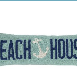 beach house anchor 8x24 pillow