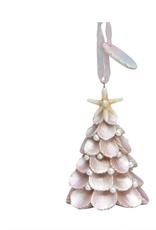 Cape Shore White Shell Bay Head Tree ornament