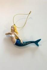 Cape Shore Mermaid Bay Head Ornament