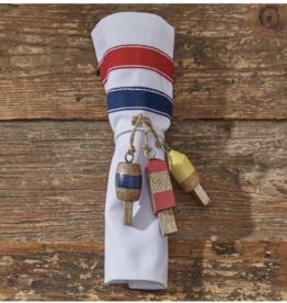 Split Pea buoy napkin ring