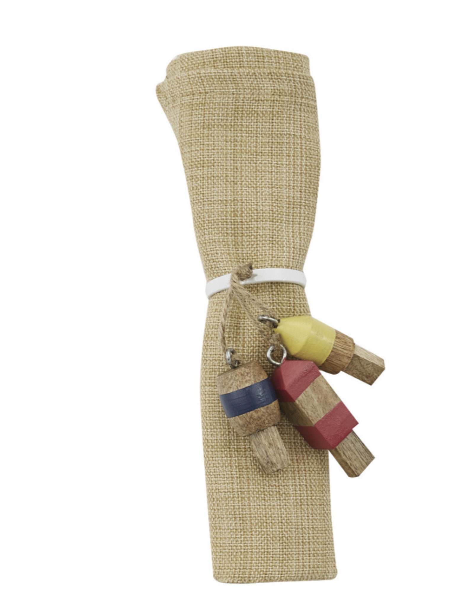 Split Pea buoy napkin ring