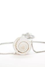 Salty Cali Ariel Bolo-Salty Shells  Silver plating Bracelet