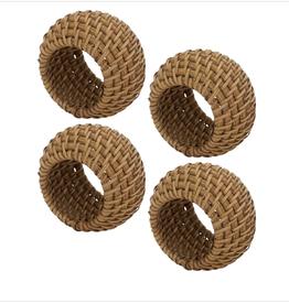Split Pea Rattan Woven Napkin Ring