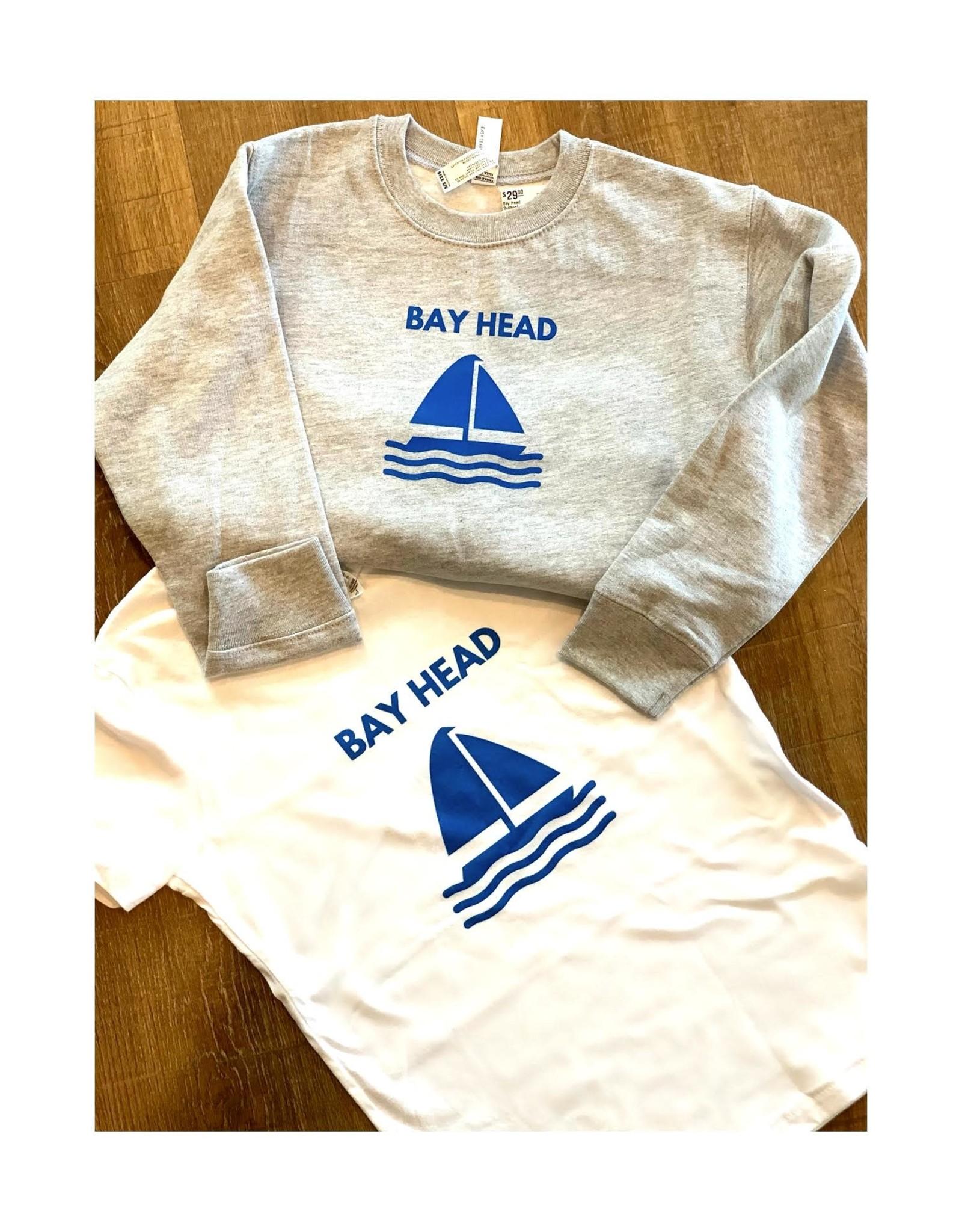 Rabbit Skins Bay Head Sailboat sweatshirt child 5-6